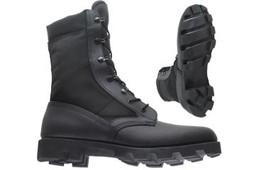 Wellco B130 Military Boots - Black Hot Weather Jungle Boot With ... ae6ba4143f7