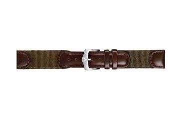 Wenger 20mm Mens Olive Nylon Strap