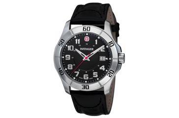 Wenger Mens Alpine Sport Watch w/ black dial bracelet 70485