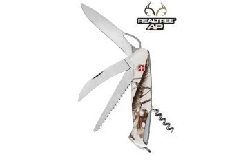 Wenger Realtree AP Snow 50 Swiss Army Knife, White Camo 16850