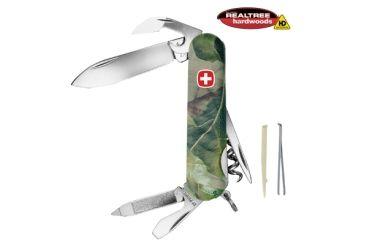 Wenger Realtree Hardwoods HD 10 Swiss Army Knife, Green Camo 16851