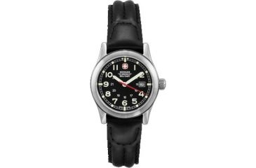 Wenger Swiss Military Ladies' Field Black Dial and Black Strap