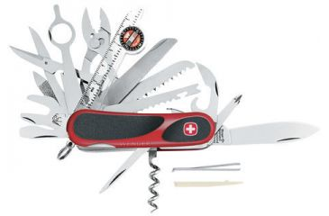 Wenger Evogrip S54 Swiss Army Knife 5 Star Rating Free
