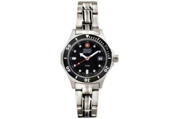 Wenger Swiss Military Alpine Diver Watch - Men's Stainless Steel Water Resistant Watch