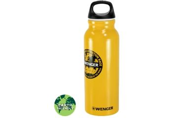 Wenger Travel Top 650ml Drinking Bottle, Patagonian Expedition Race Yellow 18006