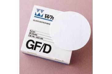 Whatman Grade GF/D Glass Microfiber Filters, Whatman 1823-021