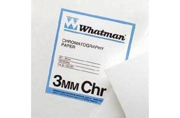 Whatman Grade No. 3MM Chr Chromatography Paper, Cellulose, Whatman 3030-153 Sheets