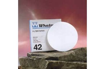 Whatman Grade No. 42 Quantitative Filter Paper, Ashless, Whatman 1442-185