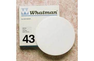 Whatman Grade No. 43 Quantitative Filter Paper, Ashless, Whatman 1443-125