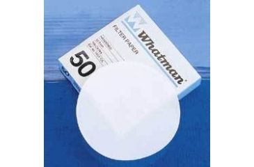Whatman Grade No. 50 Quantitative Filter Paper, Low Ash, Whatman 1450-125