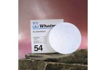 Whatman Grade No. 54 Quantitative Filter Paper, Low Ash, Whatman 1454-055 Filter Circles