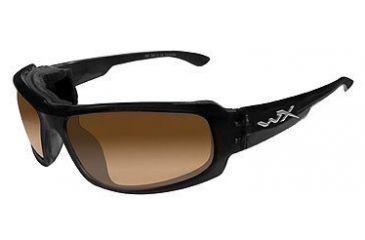 00531f2c63 Wiley X Airborne Sunglasses - LA Light Adjusting Bronze Brn Gloss Black  CCAIR06