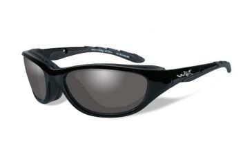 Wiley X AirRage Gloss Black Frame w/ RX Prescription Lenses
