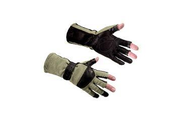 Wiley X Aries Flight Gloves - Green G312