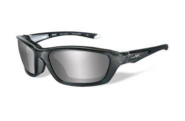 20648968a8 Wiley X Brick Crystal Metallic Frame w  RX Prescription Lenses