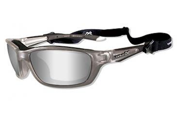 466006759b Wiley X Brick Sunglasses Polarized Smoke Grey Gloss Black