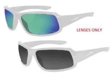 b558add960 Wiley X Flare Replacement Lenses for Flare Sunglasses