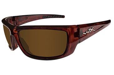 Wiley X Lantern Bifocal Prescription Sunglasses - Gloss Tortoise Frame ACLAN04