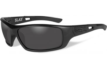 907ec075b2 Wiley-X Slay Black OPS Tactical Sunglasses - Smoke Grey Lens   Matte Black  Frame