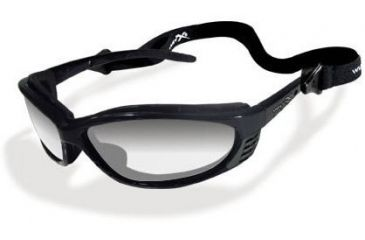 Wiley-X JP-3 Filter 3 Crystal Gradient Mirror / Gloss Black Sunglasses / Goggles
