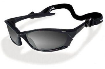 Wiley-X JP-4 Light Adjusting Grey / Gloss Black Sunglasses / Goggles