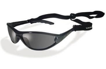 90da24a550b Wiley X P-36 Polarized Neutral Slate   Gloss Black Sunglasses