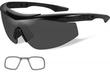 Wiley-X CHTLN2 WX Talon Advanced Changeable Sunglasses Smoke Grey//Clear//Rust