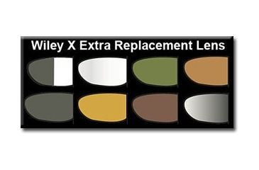 Wiley X Top Jimmie Sunglasses Extra Replacement Lenses