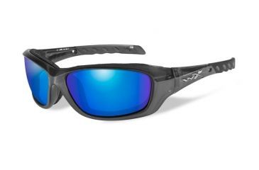 266974923041 Wiley X Wx Gravity CCGRA RX Single Vision Sunglasses - Black Crystal Frame  CCGRA04RX
