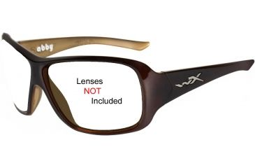 Wiley X Abby Replacement Frame - Espresso Brown *No Lens*