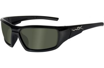 Wiley X WX Censor SSCEN RX Single Vision Sunglasses - Gloss Black Frame SSCEN04RX