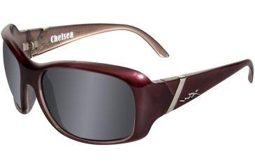 Wiley X WX Chelsea SSCHE Bifocal Rx Sunglasses - Liquid Plum Frame SSCHE01BF