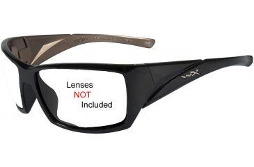 Wiley X Mojo Replacement Frame - Gloss Black Metallic Coffee *No Lens*