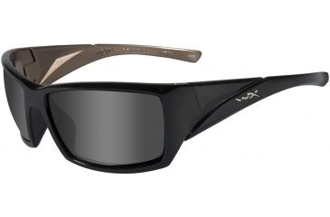 9cdcebab6ca Wiley X Mojo Sunglasses - Smoke Gray Lens w  Gloss Blk Metallic Coffee  Frame SSMOJ01