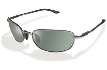 Wiley-X 480 Polorized Smoke Green/Gun Metal Sunglasses