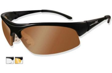 10b4fa7b19 Wiley X B-2 Interchangeable Lens Sunglasses - Polarized Smoke Lens ...