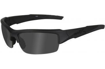 Wiley X Valor Sunglasses - Black Ops, Smoke Gray Lenses w/ Matte Black Frame CHVAL01