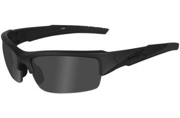 Wiley X Valor Grey//Clear Matte Black Frame Sunglasses CHVAL07