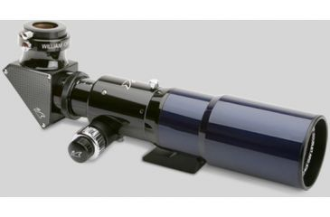 William Optics Zenith-Star 66mm Doublet SD APO Refractor Telescope w/ 2 Speed Focuser + 2'' Dielectric Diagonal ( Blue Tube) ZS66-SD-BP2