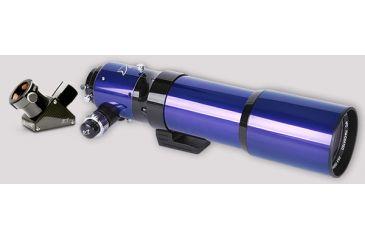 William Optics ZenithStar 80mm II ED APO Doublet f/6.8 Refractor Telescope, Aluminum Case & 1.25'' CF Dielectric Diagonal ZS80-ED-125DI
