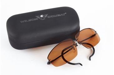 2-Wilson Combat Decot Revel Shooting Glasses with Case