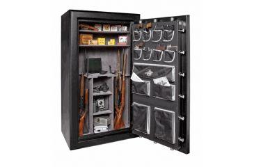 Winchester Safes Silverado 49 Gun Safe,Mechanical Lock,Black S7242497M