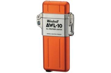 Windmill AWL All Weather Lighter, Matte Orange WM307-0040