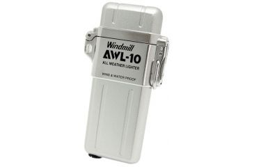 Windmill AWL All Weather Lighter, White Velours WM307-0001