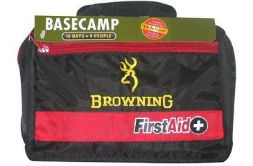 Wisconsin Pharmacal Co Browning Base Camp First Aid Kit For 1-4 Persons & 1-10 Days Supply 69001