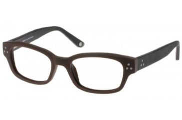 Wood U?  701 Eyeglass Frames - Walnut-Black Frame 51-18-145 WD701