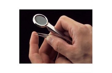 Woodstock 3x Magnifying Needle-Tipped Tweezers, Glass Magnifier D3234