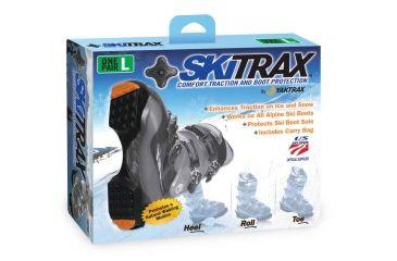 Yaktrax Shoe Traction, Skitrax, L, Black 08133