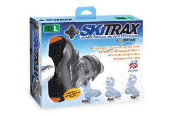 Yaktrax Shoe Traction, Skitrax, X L, Black 08134