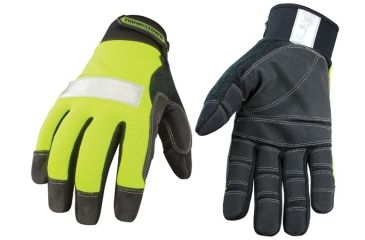 Youngstown Glove Company Safety Lime Utility Gloves, S 08-3700-10-S